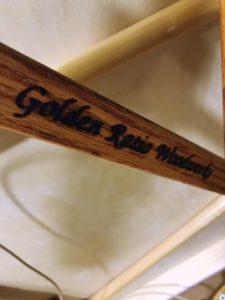 ゴールデンレシオの焼印